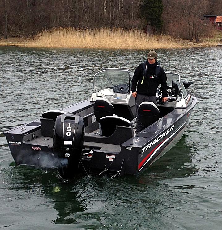 Tracker Targa Combo guidebåt