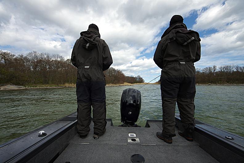 Utformad för fiske från början till slut.